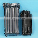 Black Inflatable Bag For Toner Cartridge , Plastic Air Column Cushion Bag