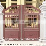New design entrance door /aluminum entry gate AJLY-605