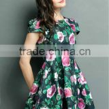 most popular beautiful korean fashion dress emerald green evening dress
