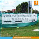 Outdoor digital print mesh banner