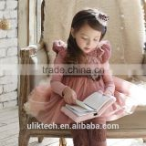 white puffy dresses for girls lace dress for 2-8 years popupar children's fine quality dresses