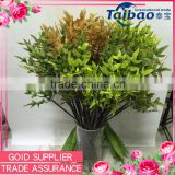 Indoor garden decoration long stem silk leaves green artificial tree branches