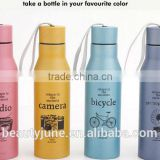stainless steel camera bike bicycle sports water bottle CE FDA certificates vacuum flask manufacturer best selling products