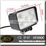 Easy installation,plug&play 50w 5inch work light 5watt led work light in auto lighting system