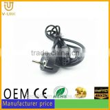 High quality standard c13 c14 connector power cord for HDTVs