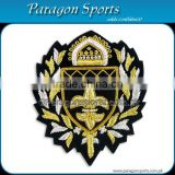 Bullion Badges Handmade Embroidered Bullion Crest PS-141