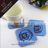 Made in china high quality promotional hard board coasters