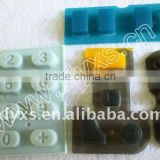 Custom Conductive Silicone Rubber Keypad ,Button for Piano