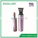 ISO standard medical oxygen cylinder /tanks 3.0L /7L