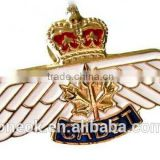 High quality profession custom pilot wing pin badge