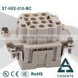 High quality cheaper HEE- 10 18 32 pin Heavy Duty Industrial Connector for automotive rj45 cable connector