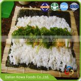 Japanese sushi food wakame frozen seaweed salad for Russia