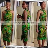 Wholesaler China Bandage Split Dashiki Dresses for Women