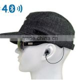 Music Sun Hat Bluetooth Headphone BT 4.0 EDR Stereo Earphone Sport Peaked Cap Headset Handsfree for Smart Phones Tablet PC