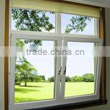 cheap price double glaze good quality aluminum tilt and turn side hung window Foshan wanjia factory price
