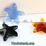 Wholesale 30mm Transparent Star Crystal Jewelry Accessories Bead Designs PMC-CB007