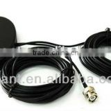 car GPS/gsm magnetic mounting Combination antenna ,car GPS GSM combined antenna, GPS GSM Dual-band external antenna.