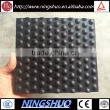 Trade Assurance round dot black stable mat, rubber mats for poultry cage