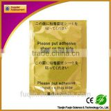Health and medical bamboo wood vinegar oem korea detox foot patch