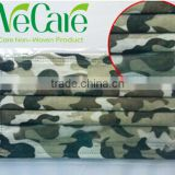 Disposable Non woven Paintball camouflage face mask with earloop