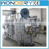 Gas-fired aluminum scrap reverberatory melting furnace