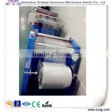 Flexible circuit membrane swith/panel/keypad cutting on machine