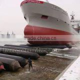 D1.5X12M High Strength Pressure Heavy Duty ship launching airbags, marine salvage airbags, heavy lifting airbags