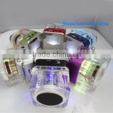 6 Colors Portable Multimedia Speaker With Music MP3/4 Player Micro SD/TF USB Disk FM Radio and LCD Display NiZHi TT028