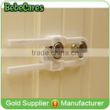 baby home safe care door alarm cabinet sliding safety plastic lock                                                                         Quality Choice