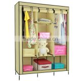 attractive style diy plastic foldable wardrobe in many style