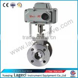 Two piece flanged ball valve Electric O-Type Cutting Ball Valve