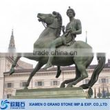 life size outdoor stone garden horse statues