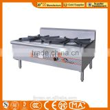 JINZAO SPS-2-8C-N Chinese Work Stove N.G. double-burner Single Circle Soup Stove Commercial Kitchen usage