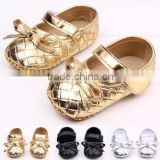 summer baby shoes cheap baby prewalker shoes golden color baby shoes