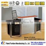 beauty salon furniture reception desk shop counter design PT-P016