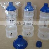 pp baby plastic milk powder puff box
