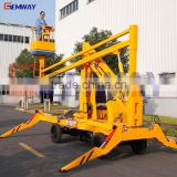 Best price hydraulic articulated folding boom lift