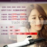Paypal Accepted Stainless Steel/Ceramic Coating Barrel Hair Curler/Professional Hair Curling Iron