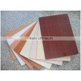 Flower color polyester plywood,polyester board,paper overlay plywood for wall panel decoration