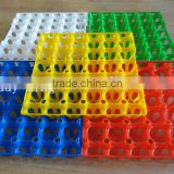 Factory price Clear transparent 30 Holes Plastic egg packing tray/Egg cartons packing tray
