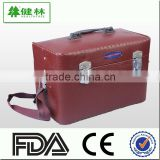 Leather First-aid kit BOX / Emergency Medical Kit BOX / Medicine Box Storage Tin case