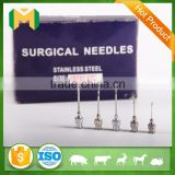 Stainless steel injection surgical needles
