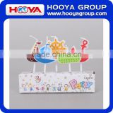 Ship shaped children party candle