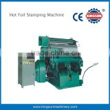 China Best selling manual feed hot foil stamping machine