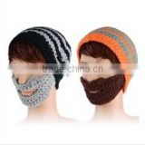 New Men's / Women's Unisex Winter Knitting Slouch Hot Beanie Hat Beard Cap 2 Colors 19855