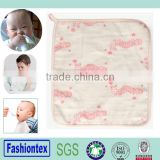skin care wholesale cotton custom print baby face cloth