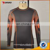 Custom compressed shirt lycra fabric rash guard