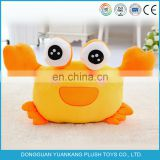 2016 Hot sell new product custom crab animals plush toy