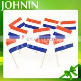 Fast shipping custom design national all countries paper toothpick flags