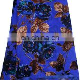 2014 hot sell high quality african velvet lace fabric